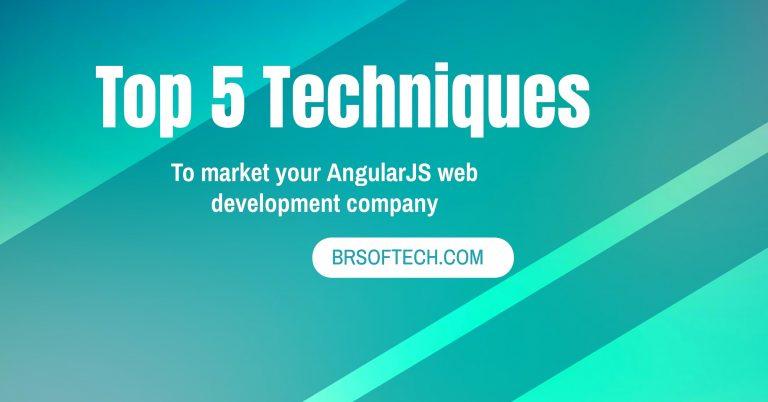Marketing Plans for AngularJS Web Development Company
