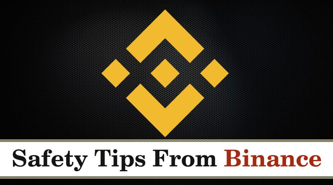 safety tips for binance